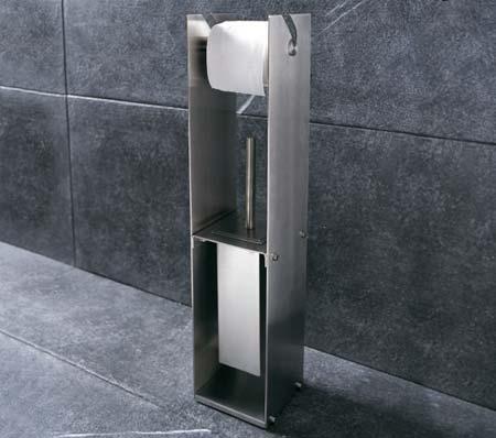 Accessori bagno senza forare idee per il design della casa - Piantana bagno ikea ...